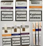 Cigarettes Compliment super slims 1, 3, 5 wholesale boxes