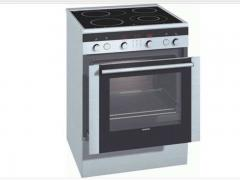 Ectromelia HL Siemens ceramic glass with a retractable oven
