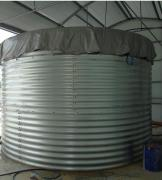 Fire tank of 500 cubic meters of water capacity of 500 m3