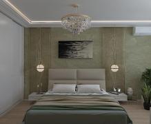Interior Design. Photorealistic 3D visualization of premises