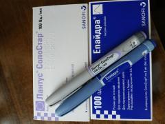 Лантус солостар шприц ручка инсулин Срок годности 10.2021 г
