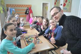 Leading to a school holiday Dnepr