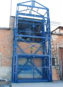 Lift truck and warehouse of the mine, cargo lift for warehouse