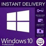 Ліцензійні ключі Windows 7, 8, 10 (PRO, Номі)