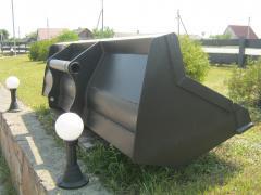 Manitou bucket (2.5 m3 / 3 m3 / 2 m3)