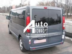 Rear window lion.without e-mail.heater Renault Trafic, Opel Vivaro
