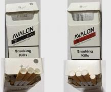 Wholesale cigarettes - Avalon Black, Red Duty Free